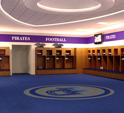 Holland Hall Locker Room